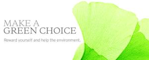 Make a green choice