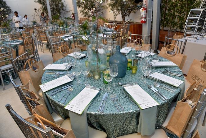 Global Green organizó su evento de los Óscares en Los Ángeles en febrero con una alfombra verde que concordaba con las iniciativas ecológicas de la organización.